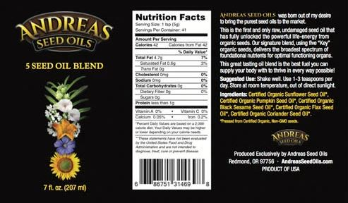5 seed label